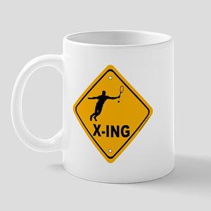 Tennis X-ing Mug
