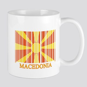 Barcode Macedonia Flag Mug