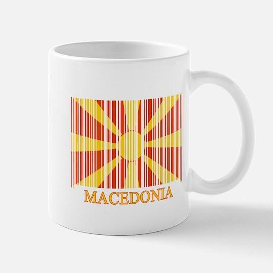 Barcode Macedonia Flag Mug