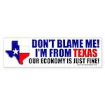 I'm From Texas Bumper Sticker (10 pk)
