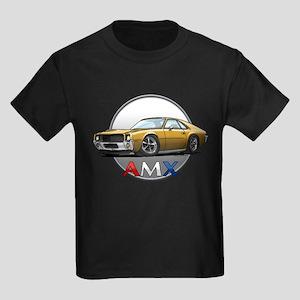Gold AMX Kids Dark T-Shirt