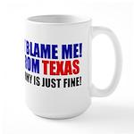 I'm From Texas Large Mug