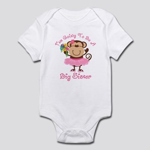 Monkey Future Big Sister Infant Bodysuit