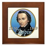 Frederic Chopin Framed Tile