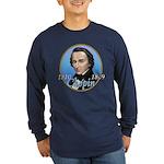 Frederic Chopin Long Sleeve Dark T-Shirt