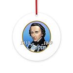 Frederic Chopin Ornament (Round)