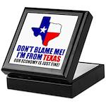I'm From Texas Keepsake Box