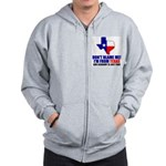 I'm From Texas Zip Hoodie