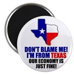 """I'm From Texas 2.25"""" Magnet (100 pack)"""