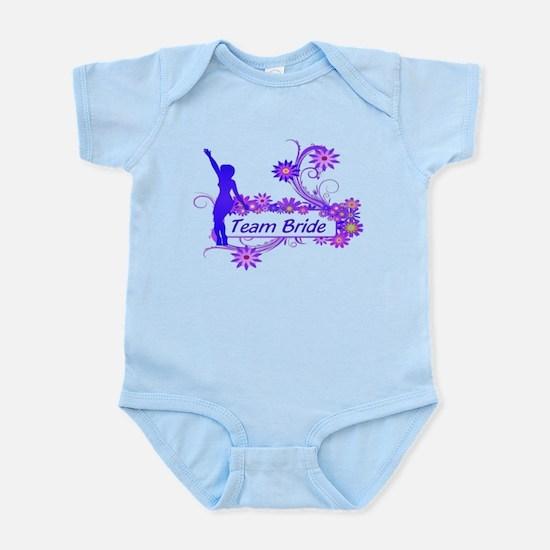Team Bride (p) Infant Bodysuit