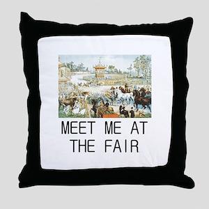 Country Fair Throw Pillow