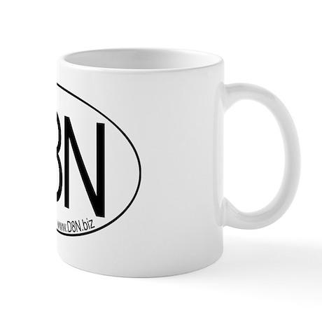 d8n oval Mugs