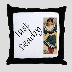 TEE Just Beachy Throw Pillow