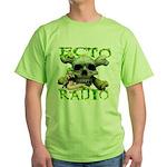 Ecto Radio, Sexbot & Skull Green T-Shirt
