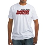 SubMission Impossible Fitted T-Shirt