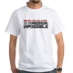 SubMission Impossible White T-Shirt