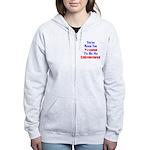Never Too Young Women's Zip Hoodie