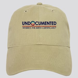 Undocumented Obama (Birther) Cap