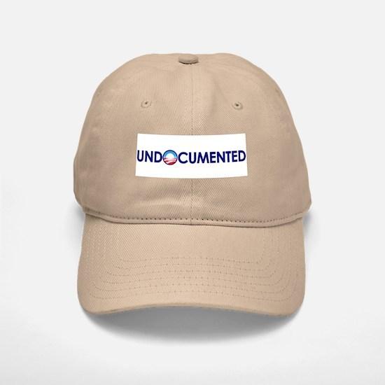 Undocumented (Anti Obama) Baseball Baseball Cap