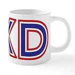 Taekwondo TKD 20 oz Ceramic Mega Mug