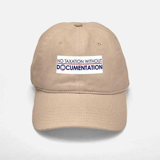 Taxation Documentation Baseball Baseball Cap