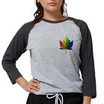 Gay Pride Canada Shirt Women's Long Sleeve T-S