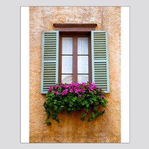 Window Flowers Small Poster