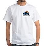 White T-Shirt - North Florida SAAB Club