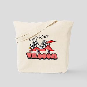 Let's Race Tote Bag