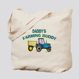 Daddy's Farming Buddy Tote Bag