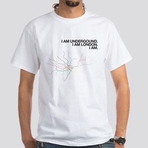 I AM LONDON white t-shirt