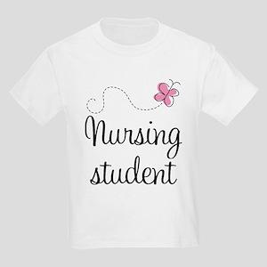 Nursing School Student Kids Light T-Shirt