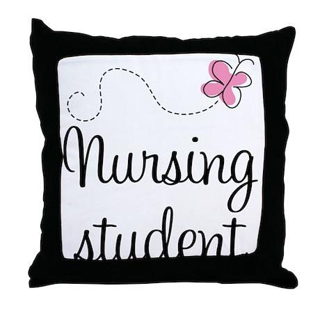 Nursing School Student Throw Pillow