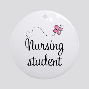 Nursing School Student Ornament (Round)