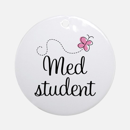 Med School Student Ornament (Round)