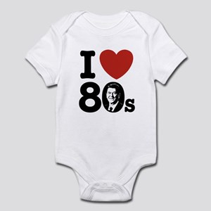I Love The 80s Reagan Infant Bodysuit