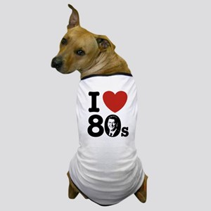 I Love The 80s Reagan Dog T-Shirt