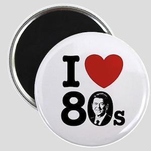 I Love The 80s Reagan Magnet