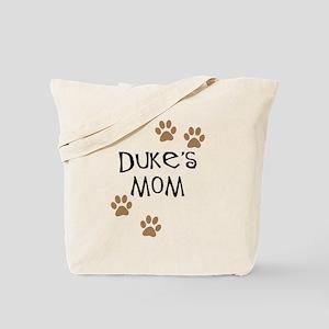 Duke's Mom Dog Names Tote Bag