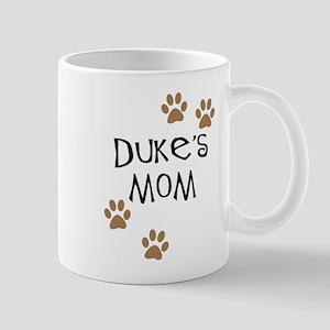 Duke's Mom Dog Names Mug