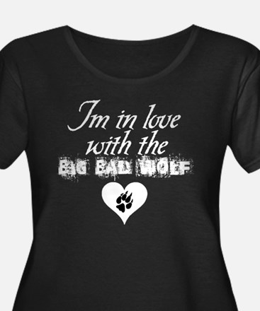 In love with Big Bad Wolf New Moon Plus Size Tee