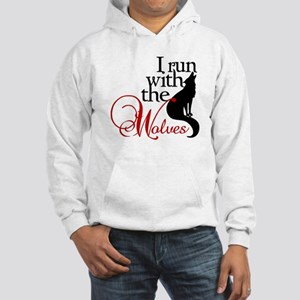 I run with the wolves New Moon Hoodie