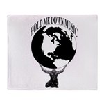 HOLD ME DOWN MUSIC GROUP OFFICIAL Throw Blanket