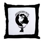 HOLD ME DOWN MUSIC GROUP OFFICIAL Throw Pillow