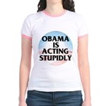 Stupidly Jr. Ringer T-Shirt
