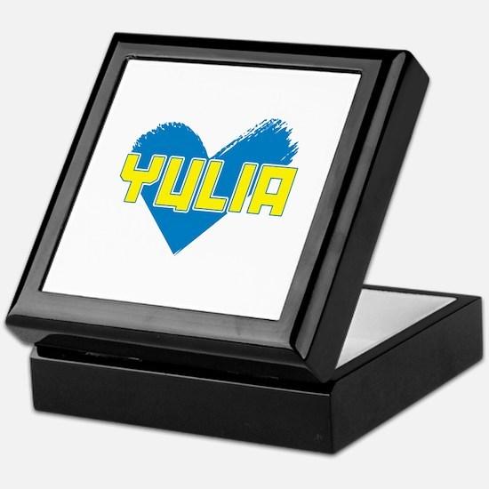 Yulia For President Keepsake Box