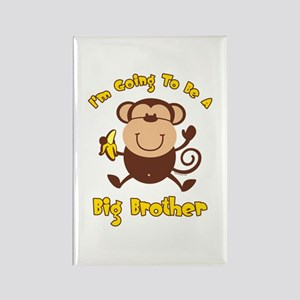 Monkey Future Big Brother Rectangle Magnet