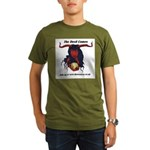 the devil comes Organic Men's T-Shirt (dark)