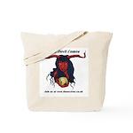 the devil comes (le demon) Tote Bag