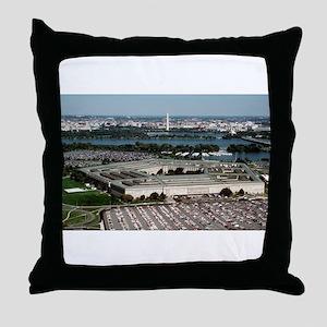 The Pentagon Throw Pillow